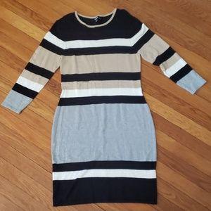 🌸 Premise Color Block Striped Dress Medium